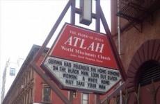 Homophobic church sign in New York blames Obama