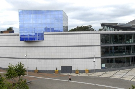 The Helix, located on DCU's campus.