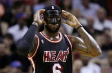 LeBron James makes comeback in bad-ass mask, leads Heat to win
