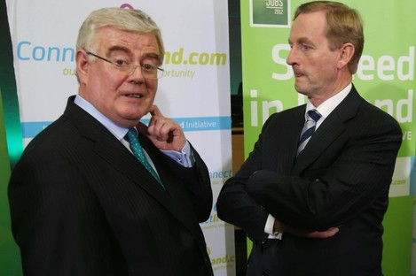 More awkward moments lie ahead for Eamon and Enda