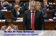 """A deception by omission"" - Robinson says the DUP was misled over 'on-the runs'"
