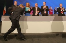 Pics: Enda Kenny having a nice trip at the Fine Gael Ard Fheis