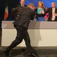 Pics: Enda Kenny having a nice trip at the Fine Gael Ard Fheis