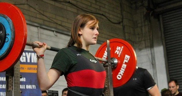 Irish powerlifter and national record holder Abigail Cronin on why strong is the new sexy