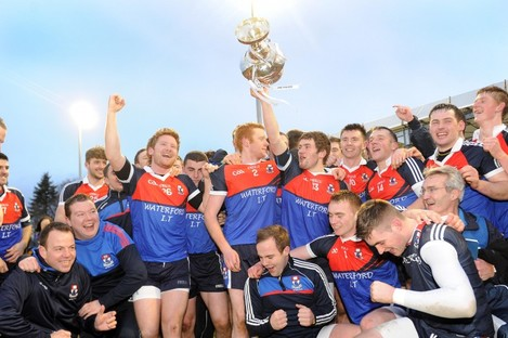 Waterford IT celebrate their success today.