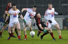 Four-goal Down easily overcome Louth in difficult conditions
