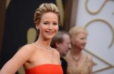 Jennifer Lawrence fell over at the Oscars AGAIN