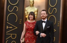 Michael Fassbender brought his Irish Mammy to the Oscars