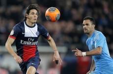 Cavani scores on return as PSG defeat Marseille