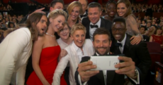 Ellen just set up the best selfie of all time...and broke Twitter