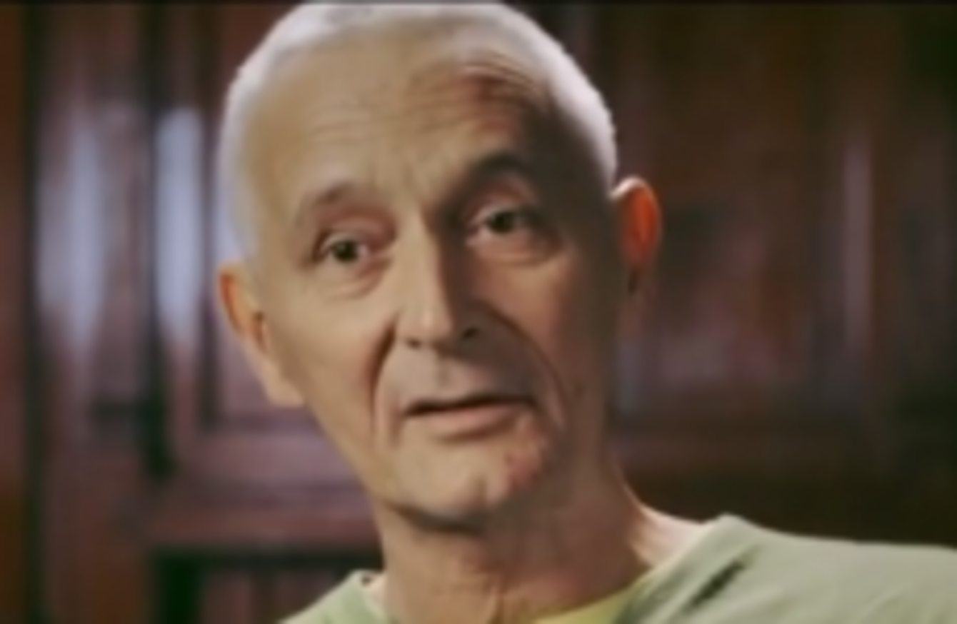 Gerry Collins, who appeared in hard-hitting anti-smoking ads