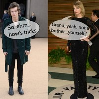 Taylor Swift and Harry Styles were forced to kiss and make up ... It's the Dredge