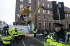 Charges over 'Anglo Avenger' cherry picker protest dropped