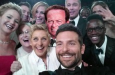 RTE's Marty Morrissey made it into Ellen's Oscars selfie