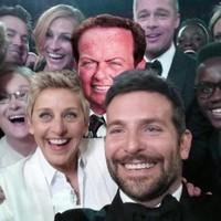 RTE's Marty Morrissey made it into Ellen's Oscars selfie