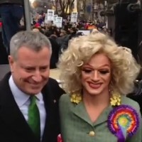 """No biggie"": Rory O'Neill honoured at New York ceremony"