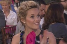 Reese Witherspoon develops powers of teleportation* during awards ceremony