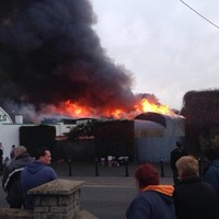 Man's body found in fire at Louth coffin makers