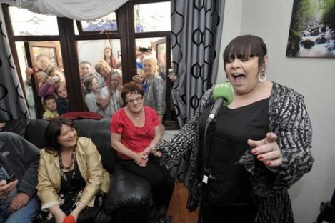 Mary Byrne is used to performing in front of smaller crowds, as well as the audience of 2,000 that will attend a bash thrown by Queen Elizabeth next week.
