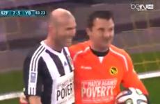 Backheels, flicks and thumping goals: Zizou Zidane has still got it, baby