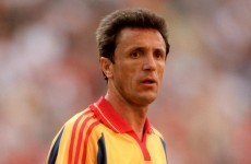 Former Romania international Popescu jailed for three years