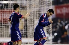 Shinji Kagawa scores his first goal in 6 months as Japan beat New Zealand