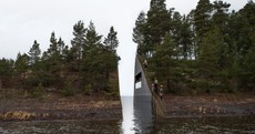 Norway's memorial to Utoya island massacre is stunning