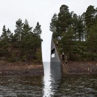 Norway's memorial to Utoya island massacre is stunning