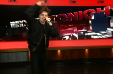 This has to be a definite contender for the WORST on-air rap ever