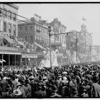 Mardi Gras in New Orleans a century ago was still a wild party