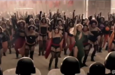 Beyoncé and all her pals had a go at Riverdance*
