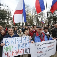 Crimean assembly to be dissolved after request to join Russia