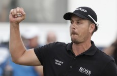 Henrik Stenson's horrible shank will make you feel much better about your golf game