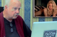 Elderly people react to Shakira and Rihanna's racy music video