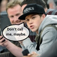 Naked fans got their hands on Niall Horan's phone number... It's The Dredge