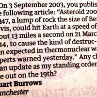 Guardian reader's letter poses VERY good question