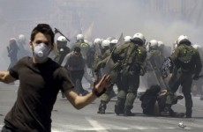 Anti-austerity protests turn violent in Athens