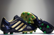 Slideshow: The custom boots Brian O'Driscoll will wear tomorrow are class