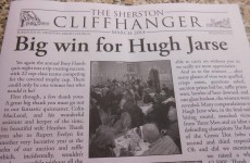 The person who wrote this parish newsletter headline is our hero