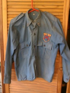 An 'original Fine Gael Blueshirt uniform' has just gone on sale...on eBay