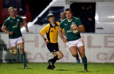 Wingers Byrne and Kelleher star as Ireland U20s enjoy Italian appetiser