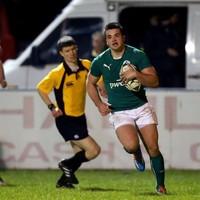 Wingers Byrne and Kelleher star as Ireland U20s enjoy Italian appetiser
