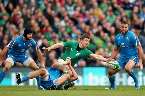 O'Driscoll was superb on his final home appearance for Ireland.