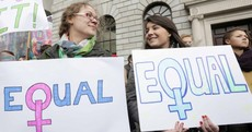 International Women's Day protest takes place in Dublin
