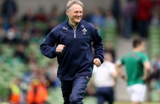 'Character and class can take you a long way' - Schmidt praises departing O'Driscoll