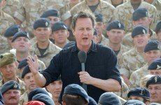 David Cameron at loggerheads with military chiefs over Afghanistan troop withdrawals