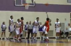 High school student sinks epic 85-foot buzzer beater