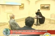 Gaddafi makes first television appearance in two weeks