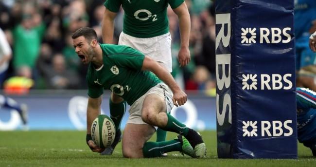 Fergus McFadden thanks Irish fans for standing ovation after replacing BOD