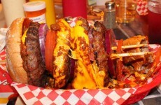 This burger joint claims that it can give customers a heart attack